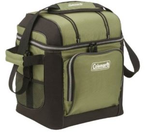 coleman 30 can soft cooler with hard liner