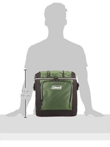 coleman 16 can soft cooler with hard liner