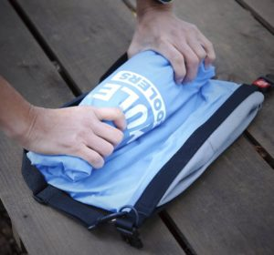 roll away portable bag cooler