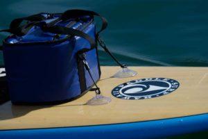 soft cooler on boat